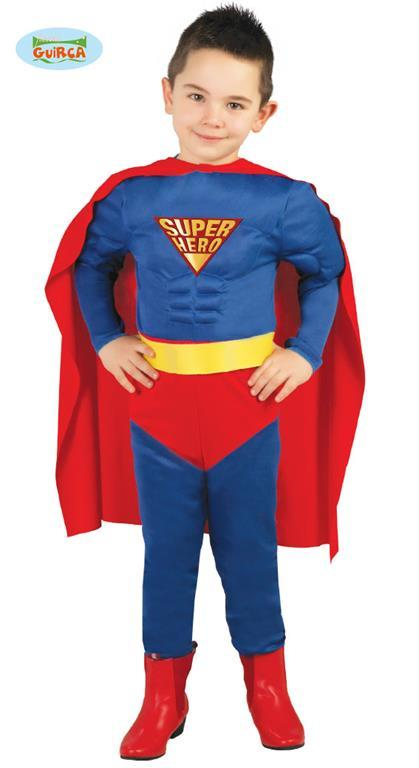 Vestito Supereroe 7-9 Anni