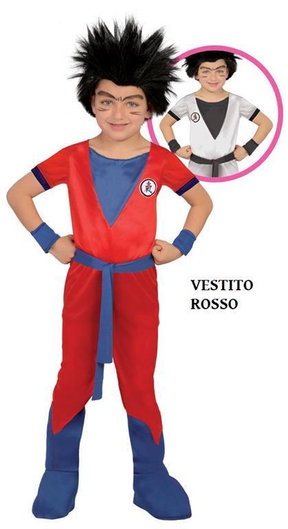 Vestito Goku Dragon Ninja 7-9 Anni
