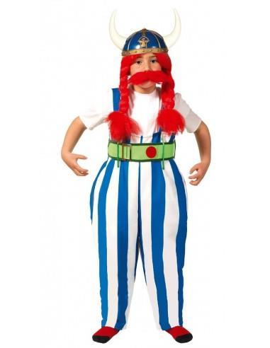 Costume gallico obelix. Da 7 anni - 2