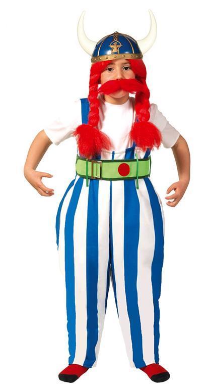 Costume gallico obelix. Da 10 anni - 2