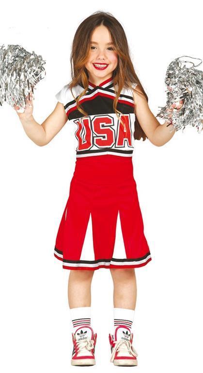 Vestito Cheerleader 5-6 Anni - 3