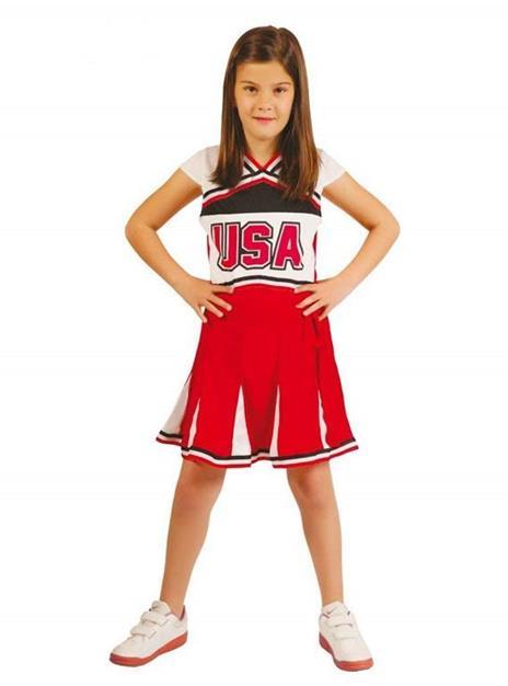 Vestito Cheerleader 5-6 Anni
