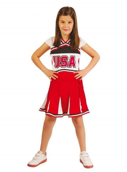 Vestito Cheerleader 5-6 Anni - 4