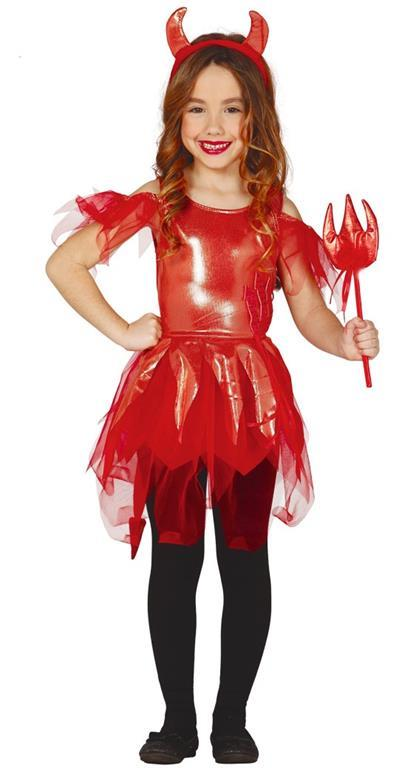 Vestito Diavoletta 10-12 Anni