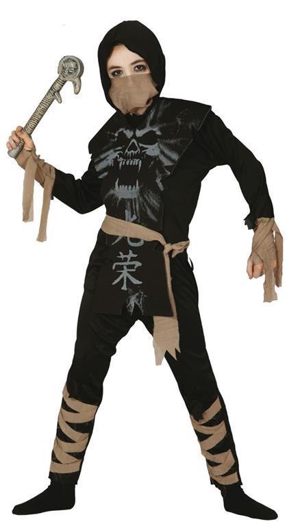 Vestito Ninja 5-6 Anni