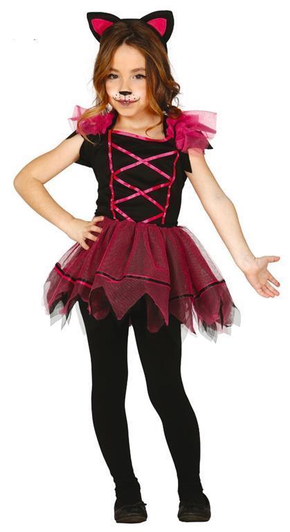 Vestito Pink Kitty 3-4 Anni