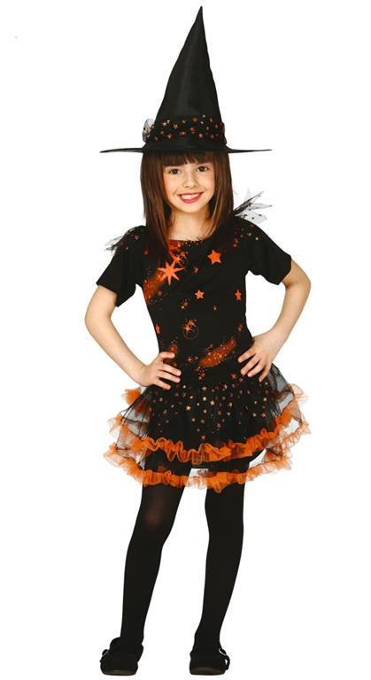 Vestito Strega Stella 10-12 Anni