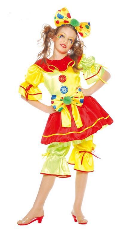 Vestito Clown Birba 7-9 Anni