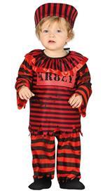 Costume clown killer detenuto