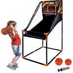 Canestro Basket Arcade Pallacanestro Sala Giochi 2 Palloni Gonfiatore 62X91X145