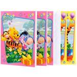 Confezione Biglietto d'auguri Disney set 10 pezzi ( 5 biglietti + 5 buste )