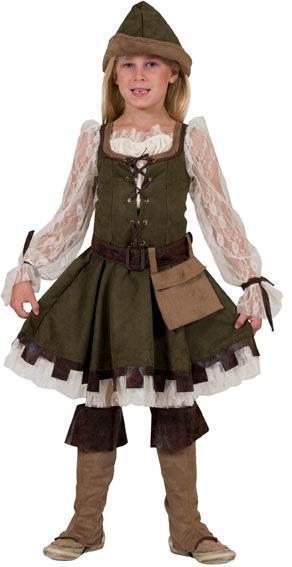 Vestito Robin Girl 6-8 Anni 128H