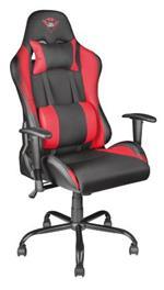 Trust GXT 707R Resto Sedia per gaming universale Nero, Rosso