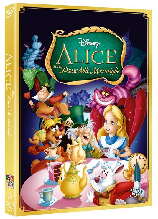 Alice nel Paese delle meraviglie<span>.</span> Edizione speciale di Clyde Geronimi,Hamilton Luske,Wilfred Jackson - DVD