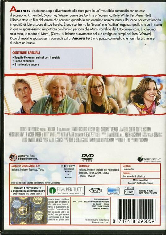 Ancora tu! di Andy Fickman - DVD - 2
