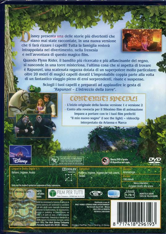 Rapunzel. L'intreccio della torre di Byron Howard,Nathan Greno - DVD - 2
