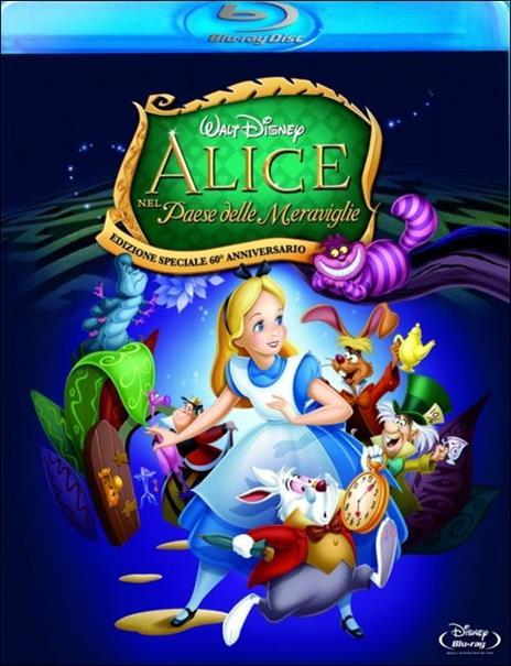 Alice nel Paese delle meraviglie di Clyde Geronimi,Hamilton Luske,Wilfred Jackson - Blu-ray