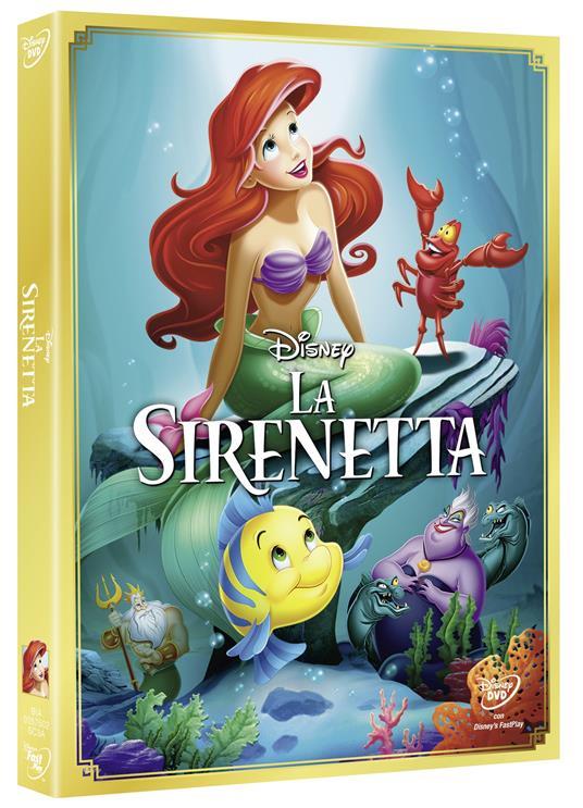 La Sirenetta<span>.</span> Diamond Edition di John Musker,Alan Menken - DVD - 2