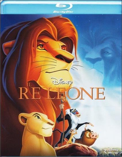 Il Re Leone di Roger Allers,Rob Minkoff - Blu-ray