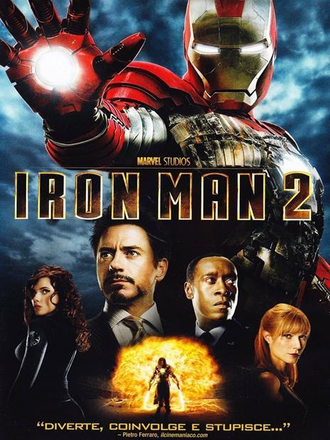 Iron Man 2 di Jon Favreau - DVD