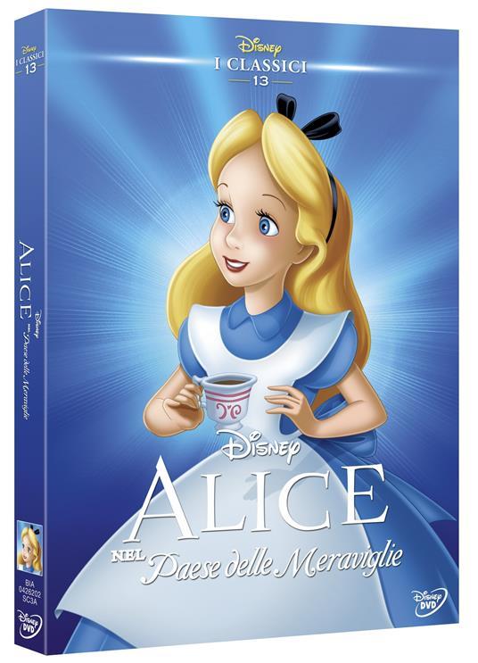 Alice nel Paese delle meraviglie (DVD)<span>.</span> Limited Edition di Clyde Geronimi,Hamilton Luske,Wilfred Jackson - DVD