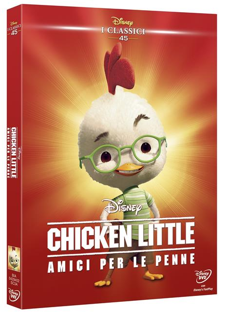 Chicken Little. Amici per le penne<span>.</span> Limited Edition di Mark Dindal - DVD