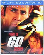 Fuori in 60 secondi. Con Steelbook (DVD + Blu-ray)
