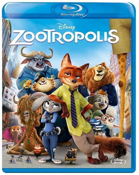 Zootropolis (Blu-ray) di Byron Howard,Rich Moore,Jared Bush - Blu-ray