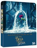 La bella e la bestia. Live Action. Con Steelbook (Blu-ray + Blu-ray 3D)