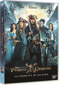Pirati dei Caraibi. La vendetta di Salazar (DVD)