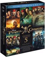 Pirati dei Caraibi. Collezione 5 film (5 Blu-ray)