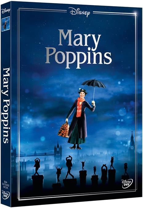 Mary Poppins. Limited Edition 2017 (DVD) di Robert Stevenson - DVD - 2