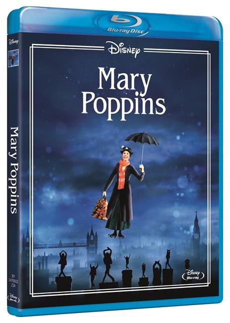 Mary Poppins. (Blu-ray) di Robert Stevenson - Blu-ray