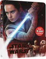 Star Wars. Gli ultimi Jedi. Con Steelbook. Con Bonus Disc (Blu-ray + Blu-ray 3D)