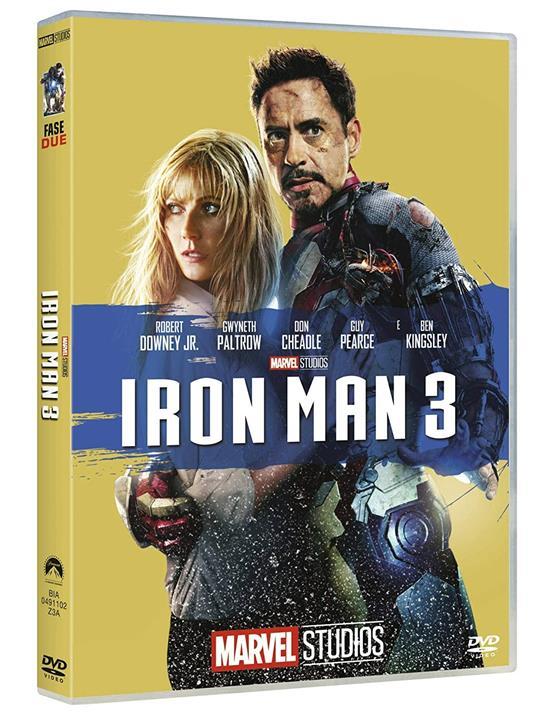Iron Man 3 di Shane Black - DVD
