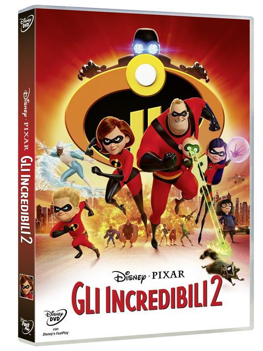 Gli Incredibili 2 (DVD) di Brad Bird - DVD