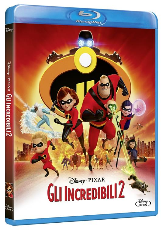 Gli Incredibili 2 (Blu-ray) di Brad Bird - Blu-ray