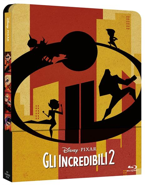 Gli Incredibili 2. Con Steelbook (Blu-ray + Bonus Disc) di Brad Bird - Blu-ray