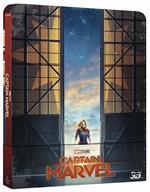 Captain Marvel. Con Steelbook (Blu-ray + Blu-ray 3D)