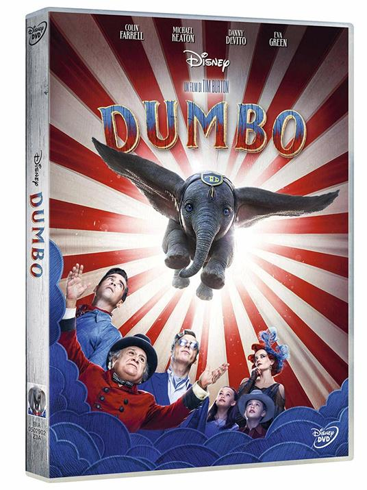 Dumbo Live Action (DVD) di Tim Burton - DVD