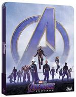 Avengers. Endgame. Con Steelbook (Blu-ray + Blu-ray 3D)