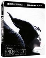 Maleficent. Signora del male. Con Steelbook (Blu-ray + Blu-ray Ultra HD 4K)