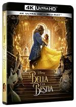 La bella e la bestia Live Action (Blu-ray + Blu-ray Ultra HD 4K)