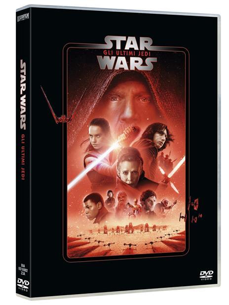 Star Wars. Episodio VIII. Gli ultimi Jedi (DVD) di Rian Johnson - DVD