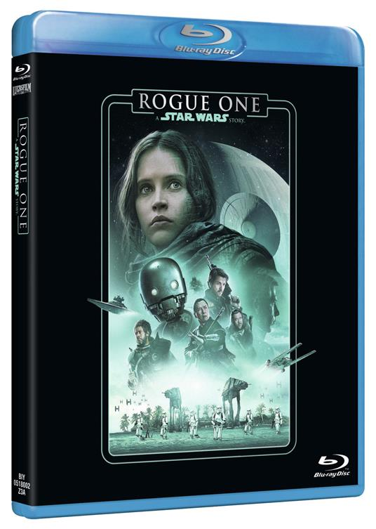 Rogue One. A Star Wars Story (Blu-ray) di Gareth Edwards - Blu-ray