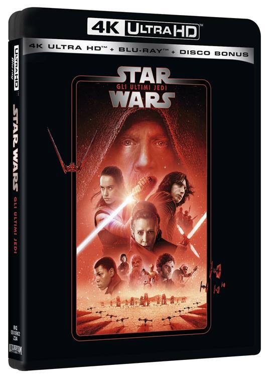 Star Wars. Episodio VIII. Gli ultimi Jedi (Blu-ray Ultra HD 4K) di Rian Johnson - Blu-ray Ultra HD 4K