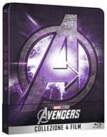 Avengers. Collezione 4 Film. Con Steelbook e Bonus Disc (4 Blu-ray)