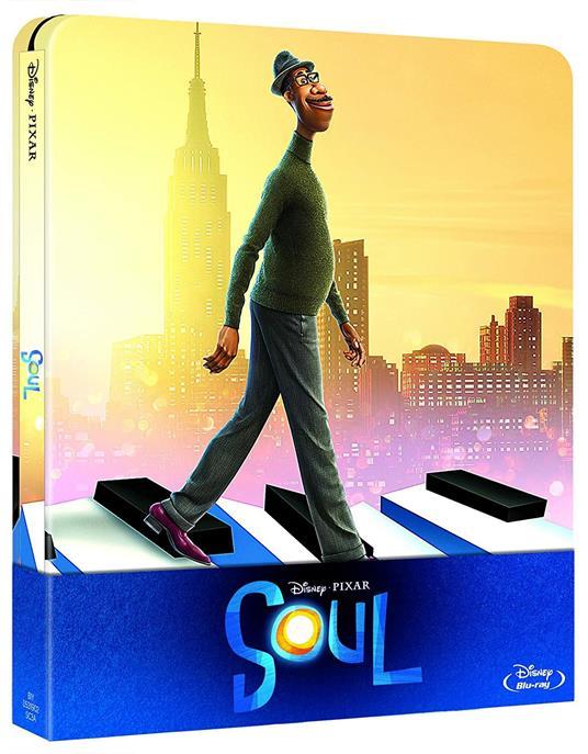 Soul. Con Steelbook (Blu-ray) di Pete Docter - Blu-ray
