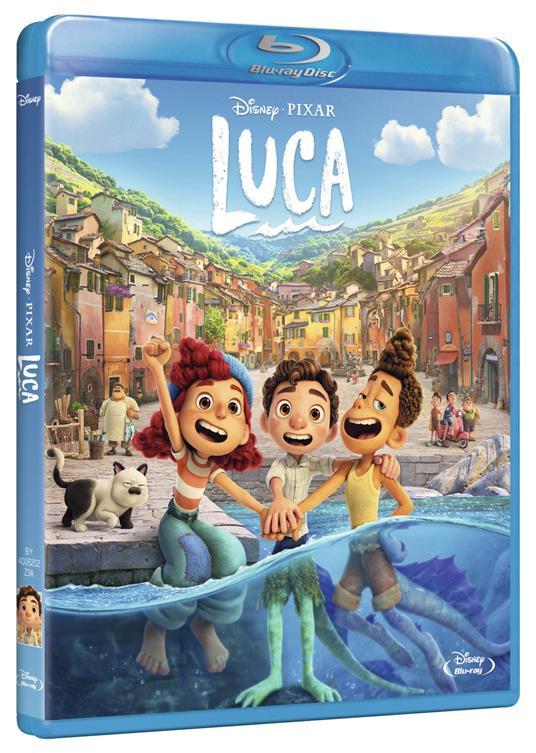 Luca (Blu-ray) di Enrico Casarosa - Blu-ray - 2