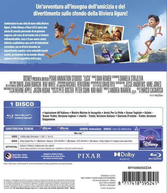 Luca (Blu-ray) di Enrico Casarosa - Blu-ray - 4